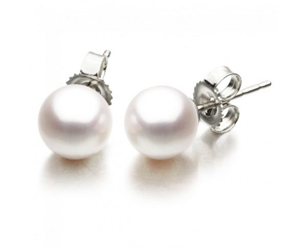 10mm Freshwater Pearl Earrings