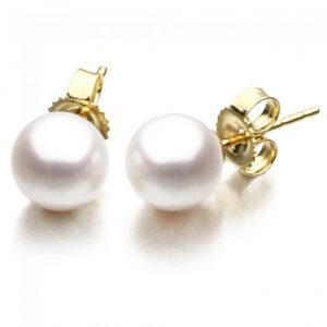 10mm Freshwater Pearl Earrings