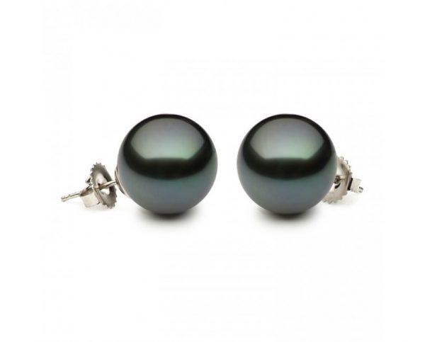 10mm Tahitian Pearl Earrings