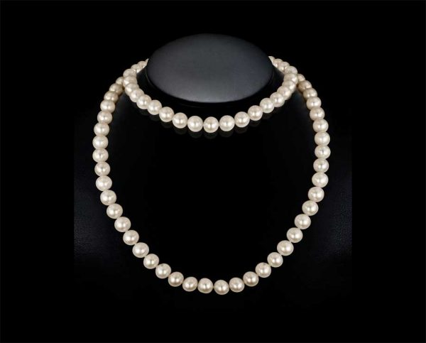 32 Inch Endless Pearl Necklace