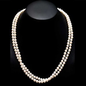 60 Inch Endless Pearl Necklace