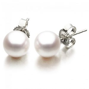 7-7.5 mm Freshwater Pearl Earrings