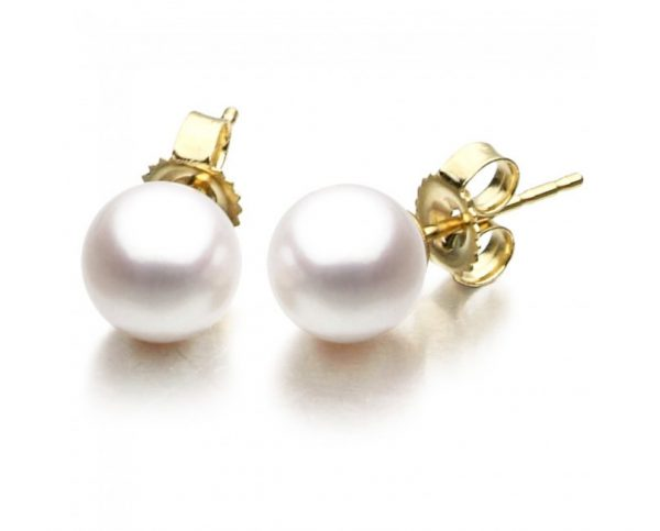 7-7.5 mm Freshwater Pearl Earrings