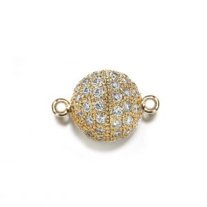 9mm Diamond Ball Clasp for Bracelet