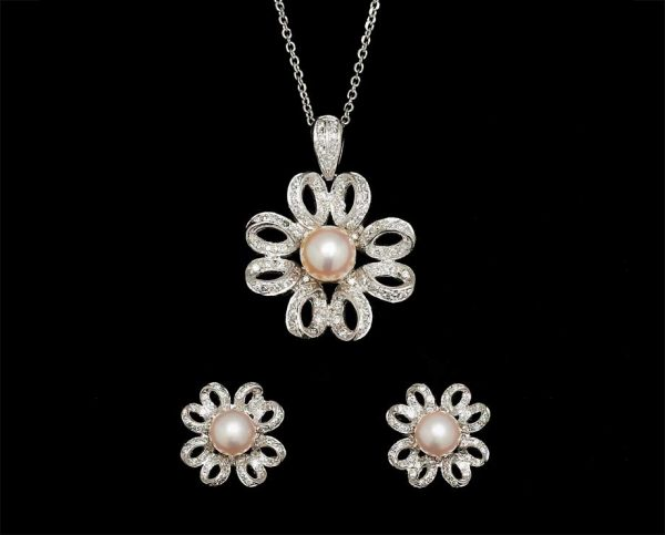 Flower Pearl Set