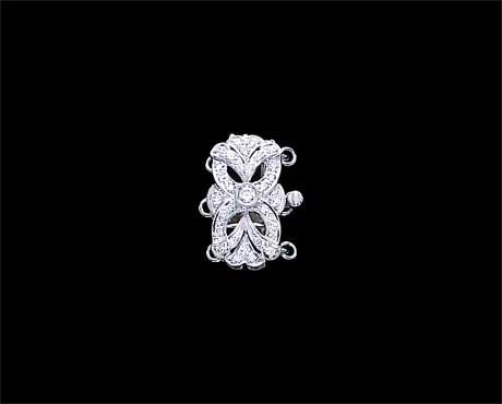 Stretch Flower Clasp for Pearl Bracelet