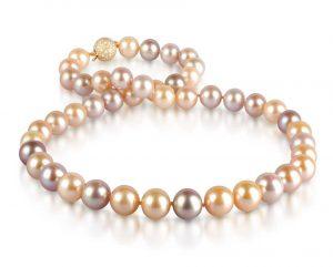 Pretty in Pink Multi-Color Pearl Necklace