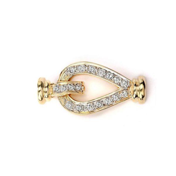 teardrop bracelet clasp