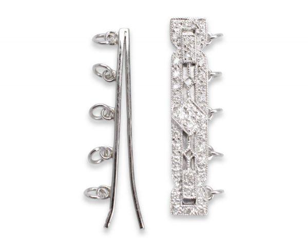 Alexander Clasp for Pearl Bracelet