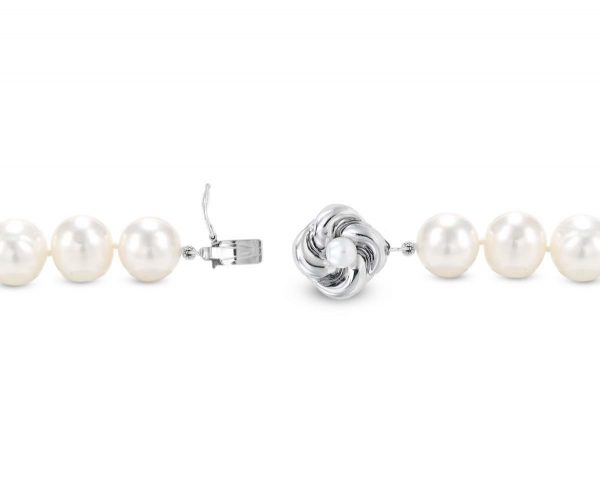 Budding Pearl Flower Clasp for Pearl Necklace