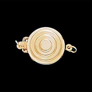 Bullseye Necklace Clasp