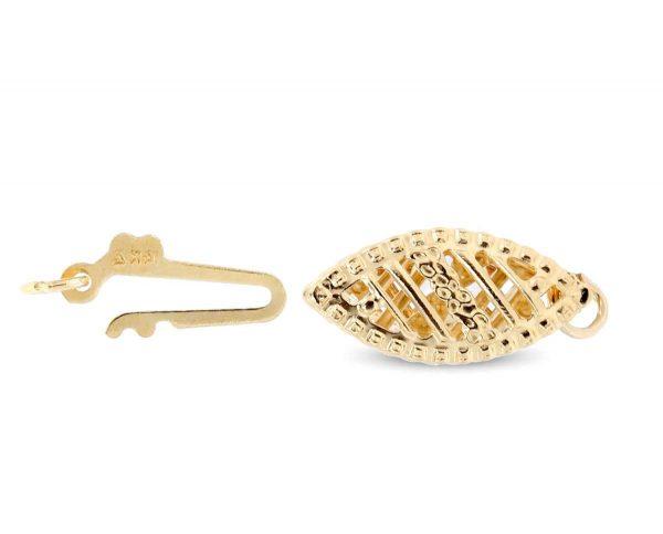 Bracelet Filigree Fishhook Clasp
