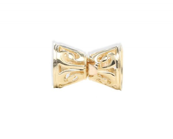 Golden Bow Necklace Clasp