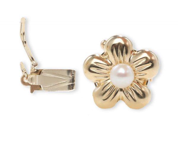 Golden Flower Bracelet Clasp