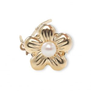 Golden Flower Necklace Clasp