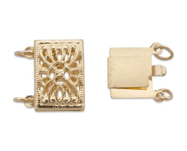 High Filigree Bracelet Clasp