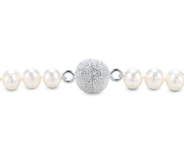Magnetic Necklace Ball Clasp