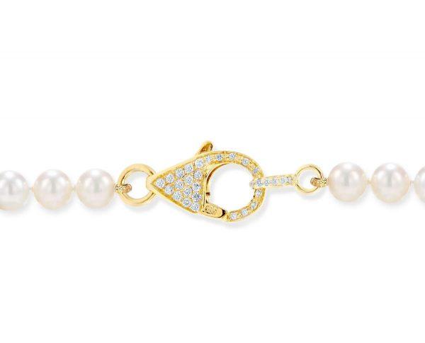 Medium Diamond Lobster Necklace Clasp
