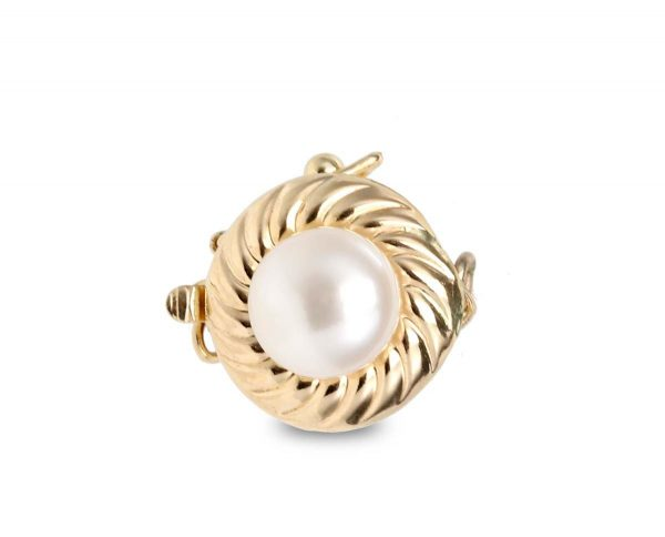 Royal Pearl Clasp for Necklace