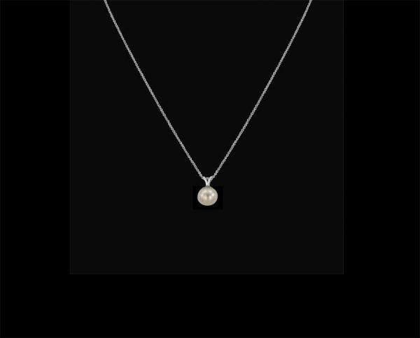 Silver Pearl Pendant