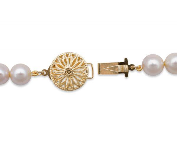 Single Strand Bracelet Filigree Clasp