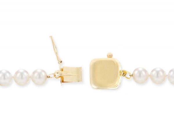 Single Strand Bracelet Golden Box Clasp